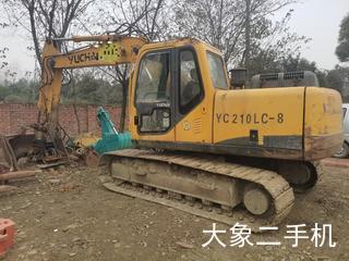 玉柴YC135D挖掘机