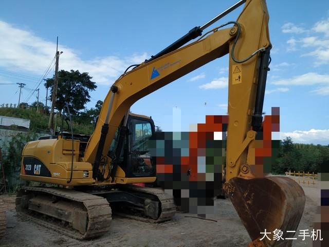卡特彼勒312D挖掘机