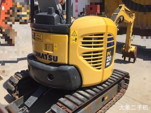 小松 PC20MR-3 挖掘机
